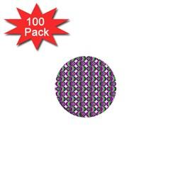 Retro 1  Mini Button (100 Pack) by Siebenhuehner