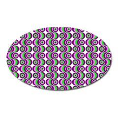 Retro Magnet (oval) by Siebenhuehner