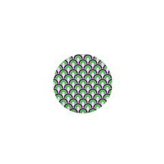 Retro 1  Mini Button Magnet by Siebenhuehner