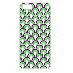 Retro Apple Iphone 5 Seamless Case (white) by Siebenhuehner