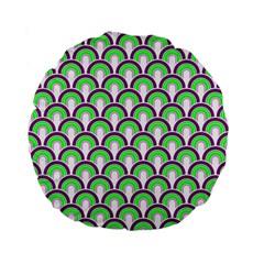 Retro 15  Premium Round Cushion  by Siebenhuehner