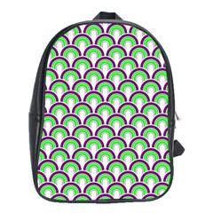 Retro School Bag (xl) by Siebenhuehner