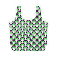 Retro Reusable Bag (m) by Siebenhuehner