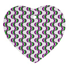 Retro Heart Ornament by Siebenhuehner