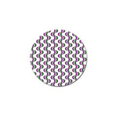 Retro Golf Ball Marker 4 Pack by Siebenhuehner