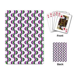 Retro Playing Cards Single Design by Siebenhuehner