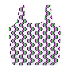 Retro Reusable Bag (l) by Siebenhuehner