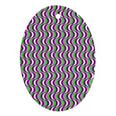 Pattern Oval Ornament by Siebenhuehner