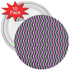 Pattern 3  Button (10 Pack) by Siebenhuehner