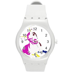 Untitled 3 Colour Plastic Sport Watch (medium) by nadiajanedesign