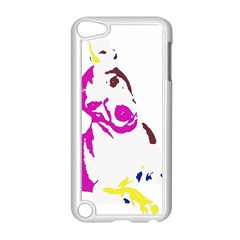 Untitled 3 Colour Apple Ipod Touch 5 Case (white)