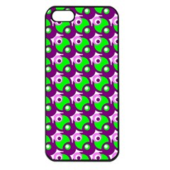 Pattern Apple Iphone 5 Seamless Case (black) by Siebenhuehner