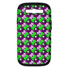 Pattern Samsung Galaxy S Iii Hardshell Case (pc+silicone) by Siebenhuehner
