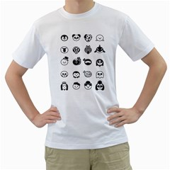 Black and White A Spotters Guide Men s T-Shirt (White)  by Contest1885036