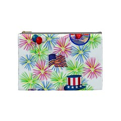 Patriot Fireworks Cosmetic Bag (medium) by StuffOrSomething