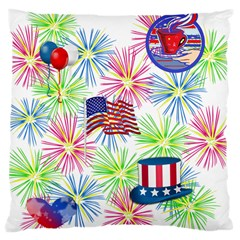 Patriot Fireworks Large Cushion Case (Two Sided)