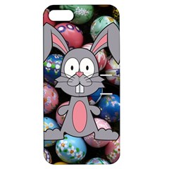 Easter Egg Bunny Treasure Apple Iphone 5 Hardshell Case With Stand by StuffOrSomething