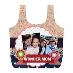 Mothers Day By Mom   Full Print Recycle Bag (l)   Axq2bc7grp0c   Www Artscow Com Front