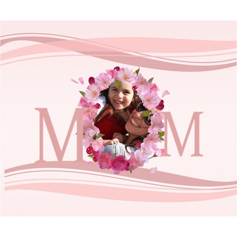 Mothers Day By Mom   Deluxe Canvas 14  X 11  (stretched)   Yng3py5ewnd1   Www Artscow Com 14  x 11  x 1.5  Stretched Canvas