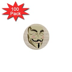 We The Anonymous People 1  Mini Button (100 Pack) by StuffOrSomething