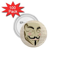 We The Anonymous People 1 75  Button (100 Pack) by StuffOrSomething