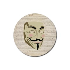We The Anonymous People Drink Coasters 4 Pack (round)