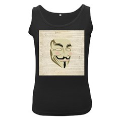 We The Anonymous People Women s Tank Top (black) by StuffOrSomething