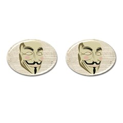 We The Anonymous People Cufflinks (oval) by StuffOrSomething