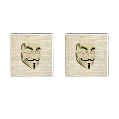 We The Anonymous People Cufflinks (square) by StuffOrSomething