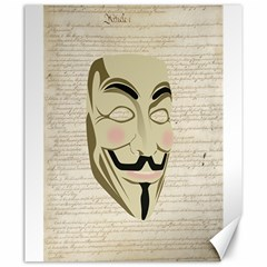 We The Anonymous People Canvas 20  X 24  (unframed) by StuffOrSomething