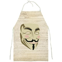 We The Anonymous People Apron by StuffOrSomething