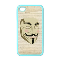 We The Anonymous People Apple Iphone 4 Case (color) by StuffOrSomething