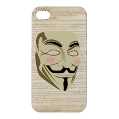 We The Anonymous People Apple Iphone 4/4s Hardshell Case by StuffOrSomething
