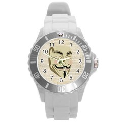 We The Anonymous People Plastic Sport Watch (large) by StuffOrSomething