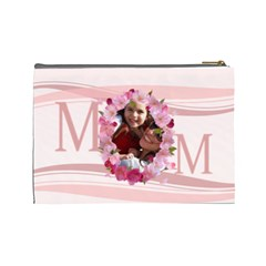 Mothers Day By Mom   Cosmetic Bag (large)   Vhjka579mvu0   Www Artscow Com Back