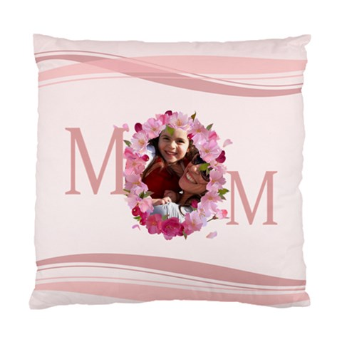Mothers Day By Mom   Standard Cushion Case (one Side)   C3zm99bsvbvh   Www Artscow Com Front