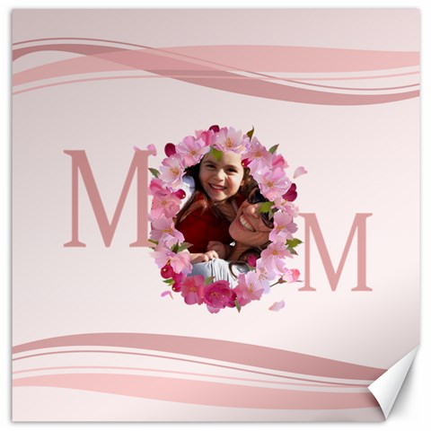 Mothers Day By Mom   Canvas 12  X 12    Vy834iffpse7   Www Artscow Com 12 x12 Canvas - 1