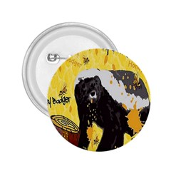 Honeybadgersnack 2 25  Button by BlueVelvetDesigns