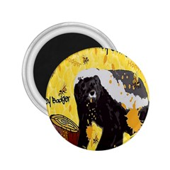 Honeybadgersnack 2 25  Button Magnet by BlueVelvetDesigns