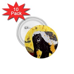 Honeybadgersnack 1 75  Button (10 Pack) by BlueVelvetDesigns