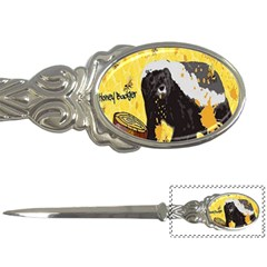 Honeybadgersnack Letter Opener by BlueVelvetDesigns