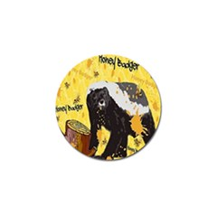 Honeybadgersnack Golf Ball Marker by BlueVelvetDesigns