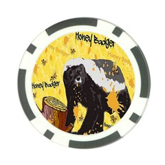 Honeybadgersnack Poker Chip (10 Pack) by BlueVelvetDesigns