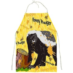 Honeybadgersnack Apron by BlueVelvetDesigns