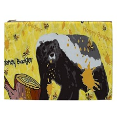 Honeybadgersnack Cosmetic Bag (xxl)