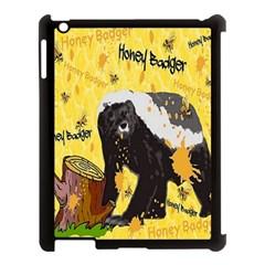 Honeybadgersnack Apple Ipad 3/4 Case (black) by BlueVelvetDesigns