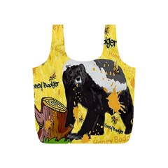 Honeybadgersnack Reusable Bag (S) by BlueVelvetDesigns