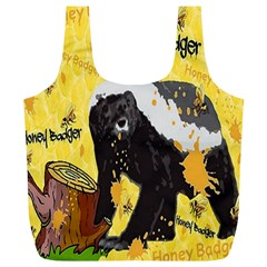 Honeybadgersnack Reusable Bag (XL) by BlueVelvetDesigns