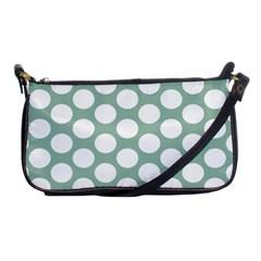 Jade Green Polkadot Evening Bag by Zandiepants
