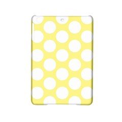 Yellow Polkadot Apple iPad Mini 2 Hardshell Case by Zandiepants
